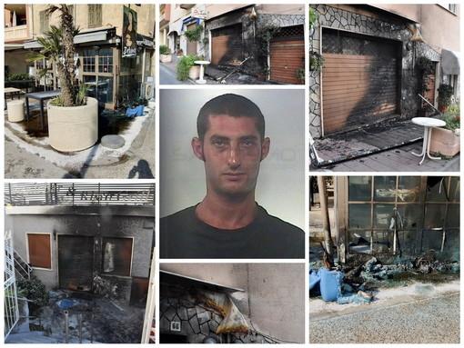 Arma di Taggia: arrestato il presunto autore degli incendi ai bar, è un 39enne della zona