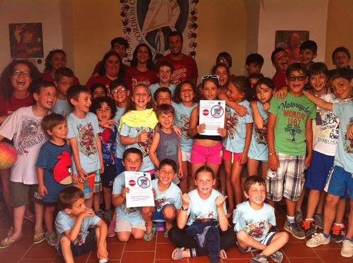 Ventimiglia: proiezione di video e foto sul mare del Ponente ligure per i ragazzi della colonia estiva