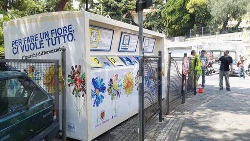 Sanremo: altra novità per il 'porta a porta', in via Martiri arriva l'Isola Ecologica Informatizzata in formato 'mobile'