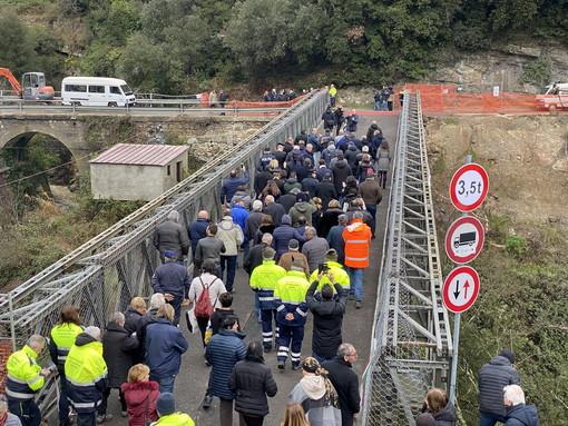 """Rocchetta Nervina: """"Siamo tornati alla normalità"""", il Sindaco Rondelli più sereno a poche ore dall'apertura del ponte"""