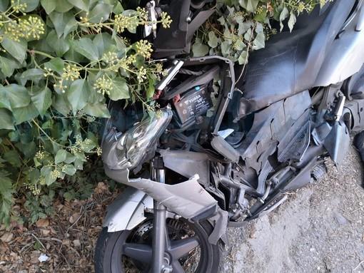 Imperia: scontro tra un suv e uno scooter in via Argine Destro, grave un diciannovenne (Foto)