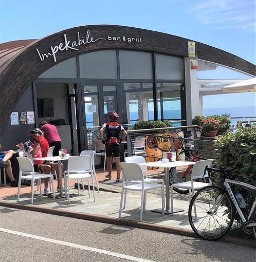 """Sanremo: la cucina gourmet di """"Impekabile"""" sulla pista ciclabile e di fronte al mare"""