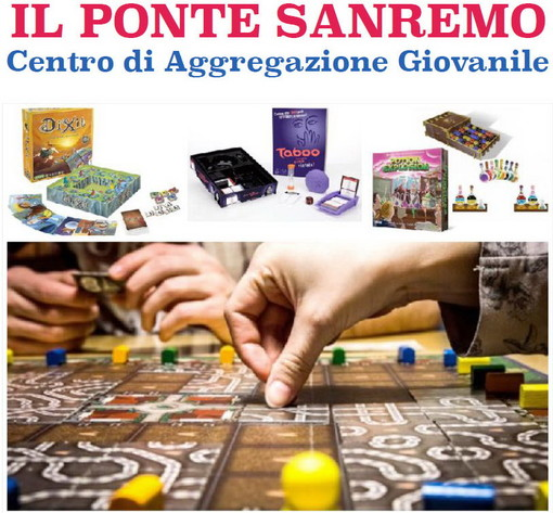 Sanremo: domani al centro 'Il Ponte' giochi da tavolo e un tablet in memoria di Marco Galasso