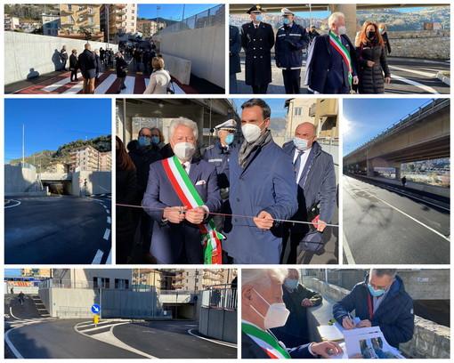 inaugurazione sottopasso via Tenda Ventimiglia
