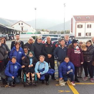 Sanremo: il Capitano Boccucci si è congedato dai Carabinieri, il ringraziamento della Polisportiva Integrabili