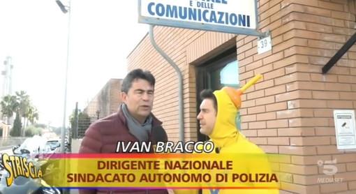 Imperia: dopo la conferma che la Polizia Postale non chiuderà ieri l'Ispettore Ivan Bracco intervistato da 'Striscia'