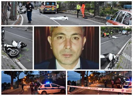 Sanremo: incidente mortale di questa sera in via Padre Semeria, la vittima è Gianluca Balzano di 49 anni (Foto)