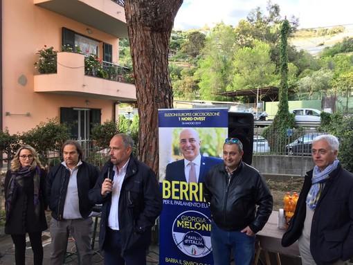 Elezioni Amministrative Sanremo: incontro con Fratelli d'Italia e Sergio Tommasini ieri a Borgo Tinasso