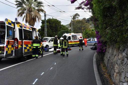 Bordighera: confermata la dinamica dell'incidente mortale di ieri, senza colpe la conducente dell'auto