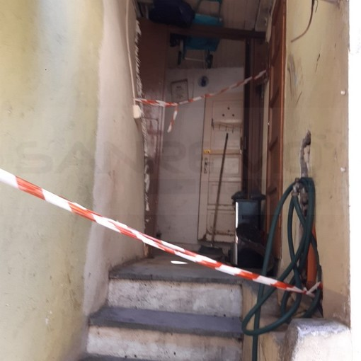 Sanremo: incendio di domenica a Coldirodi, i residenti di via Rambaldi tornano a chiedere la rimozione dei detriti (Foto)