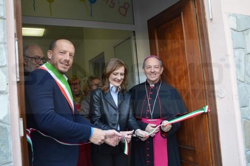 Ventimiglia: inaugurato questa mattina in via Sottoconvento l'Emporio Solidale (Foto e Video)