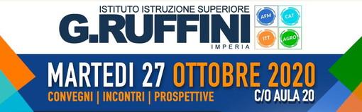 Imperia: domani all'Istituto Ruffini il recupero della 5a giornata della settimana #guardaorailtuofuturo