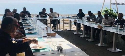 Ventimiglia: incontro tra Marco Scajola (Cambiamo con Toti Presidente) ed amministratori e imprenditori dell'area intemelia