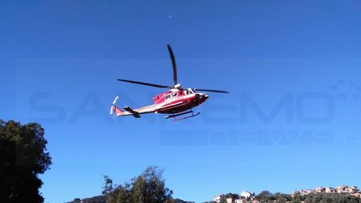 Colle Melosa: si schianta a bordo di uno slittino, trauma al volto per una donna, richiesto intervento dell'elicottero