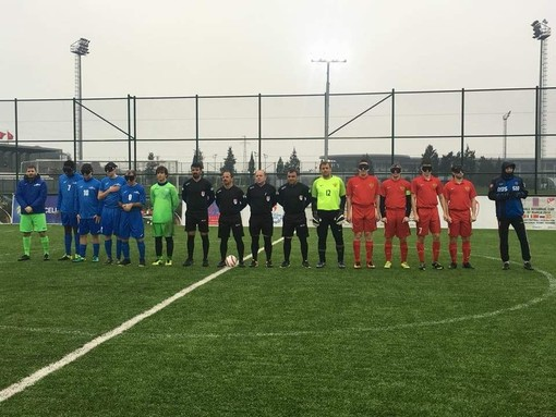Foto estratta dalla pagina ufficiale Facebook IBSA Blind Football