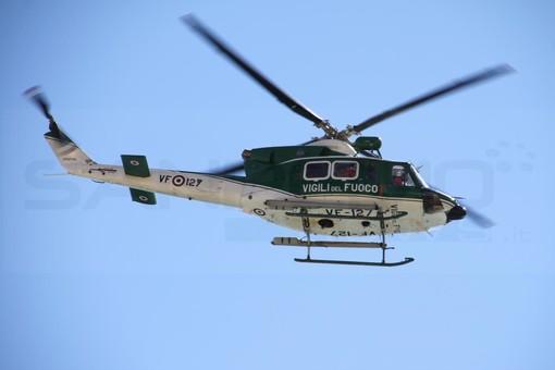 Pigna: malore in auto per una guardia giurata e scontro con un bus, mobilitazione di soccorsi ed elicottero in arrivo