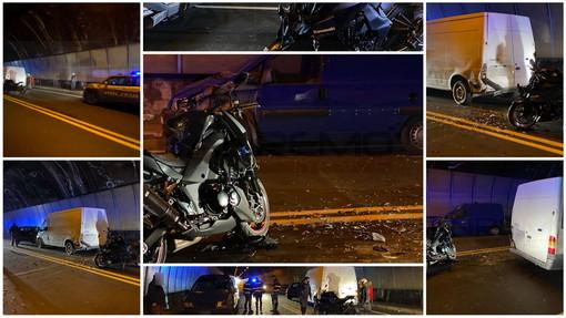 Ventimiglia: doppio incidente stradale in galleria vicino al confine di Ponte San Ludovico, tre feriti in gravi condizioni (Foto e Video)
