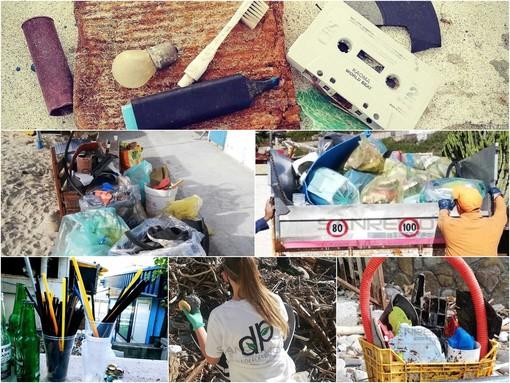 Le immagini dei tanti interventi de I Deplasticati sul litorale