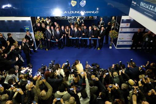 L'inaugurazione di 'Casa Sanremo' dello scorso anno
