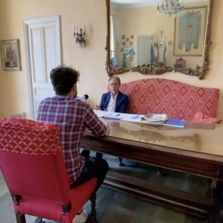 Sanremo: dalle emozioni del trionfo alle speranze per il futuro, intervista al sindaco Alberto Biancheri a un anno dalla riconferma (Video)