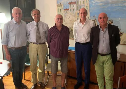 Elezioni Regionali: incontro di Luigi Sappa con Franco Solerio, Alberto Pezzini, Gianni Giuliano e Antonio Di Fazio