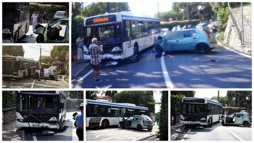 Bordighera: avrebbe tentato di superare un'auto, la coppia di coniugi morta nello scontro con un bus