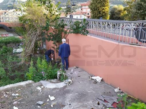 Ventimiglia: 'Operazione sicurezza' sul Roya, al via oggi la pulizia da arbusti e sterpaglie in previsione dell'autunno (Foto)