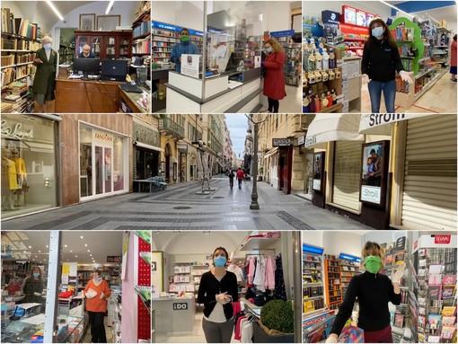 Sanremo: librerie, cartolerie e negozi per bambini, le voci dei commercianti che hanno riaperto in settimana (Video)