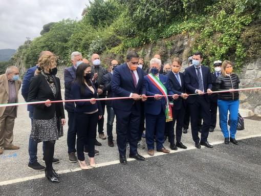Ventimiglia: taglio del nastro per nuovi parcheggi in città, i ringraziamenti della Lega