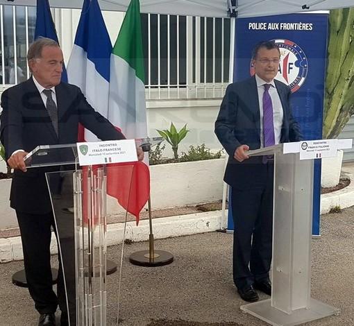 Il Direttore nazionale Immigrazione e Frontiera a Ventimiglia e Mentone: proseguono al confine le 'pattuglie miste'