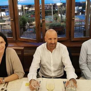 il Sindaco di Limone Piemonte Massimo Riberi a cena con il primo ministro monegasco Serge Telle