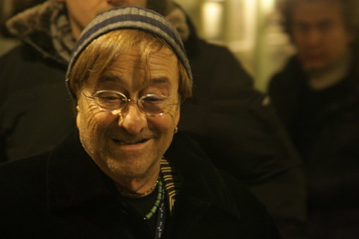 Lucio Dalla nel pieno della 'movida' sanremese, il 12 febbraio 2012