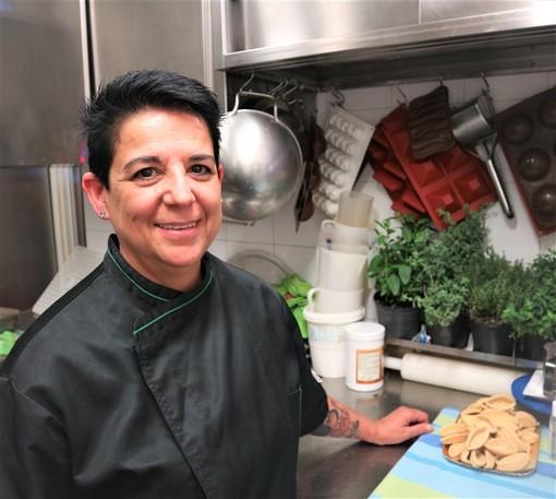 Tiziana, chef della Pignatta Rossa