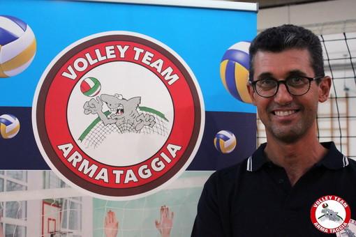 Pallavolo: al via la stagione del Volley Team Arma Taggia, intervista al coach Luca Ferrari (Video)