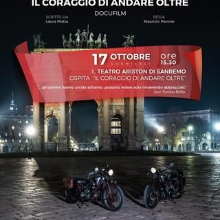 """Centenario Moto Guzzi: domenica il raduno e all'Ariston di Sanremo il docufilm """"Il Coraggio di Andare Oltre"""""""