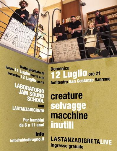 Sanremo: domani e domenica laboratori musicali per bambini dai 6 agli 11 anni presso Giardini Regina Elena