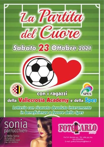 """""""La Partita del Cuore"""": evento benefico alla Polisportiva Vallecrosia Academy"""