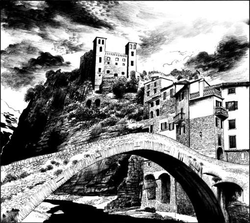 'Lucrezia', la leggenda del fantasma di Dolceacqua in edicola in un albo speciale a fumetti della serie 'Dampyr' di Sergio Bonelli Editore