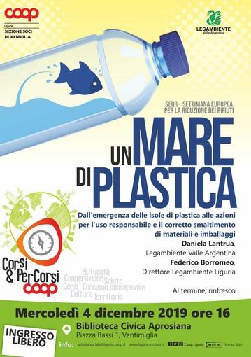 Ventimiglia: Coop Liguria propone l'incontro 'Un mare di plastica' per un uso responsabile di materiali e imballaggi
