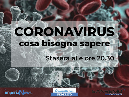 Speciale Coronavirus: questa sera alle 20.30 a '2 ciapetti con Federico' l'Asl parlerà dell'emergenza in atto