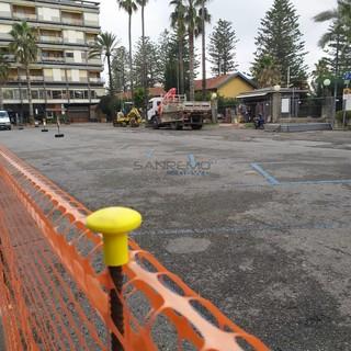 I lavori in piazza Eroi