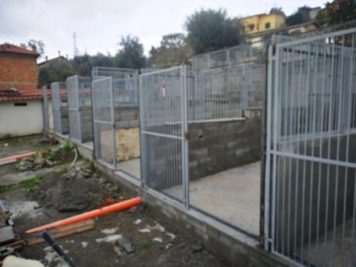Sanremo: l'Enpa lancia una nuova raccolta fondi per poter terminare i lavori al canile di strada San Pietro (Foto)