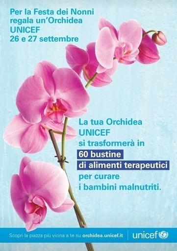 Fine settimana all'insegna della Solidarietà con l'evento 'Orchidea Point Unicef'