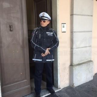 Luca Pignone, comandante della Municipale a Carcare