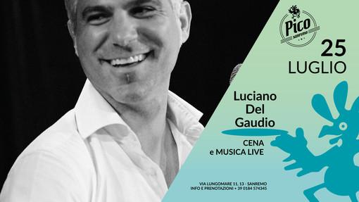 Sanremo: domani sera al Pico de Gallo cena con il live di Luciano del Gaudio