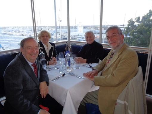 Dopo mesi di riposo forzato, i soci del Lions club Sanremo Matutia si sono incontrati per parlare delle prossime iniziative