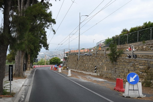 Sanremo: Aurelia sempre a senso unico alternato a La Vesca, il Comune ha convocato Anas e Regione