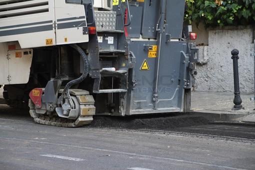 Sanremo: questa settimana verrà rifatto l'asfalto in via Roma, interventi anche in via Padre Semeria