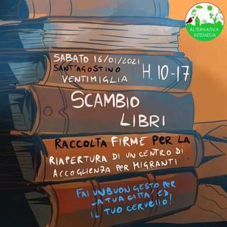 """Ventimiglia: sabato scambio libri con Alternativa Intemelia """"Si potrà anche firmare per la riapertura del centro d'accoglienza"""""""