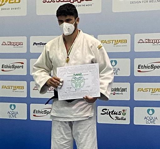 Arma di Taggia: Judo Sakura in festa, per Lorenzo Rossi convocazione in nazionale Juniores